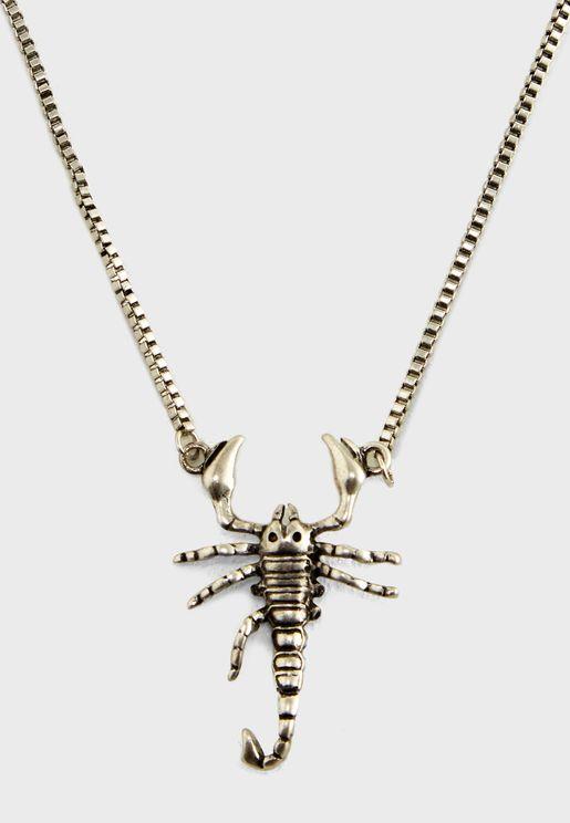 Scorpion Necklace