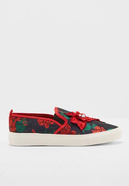 Tessa Diamnte Floral Shoes
