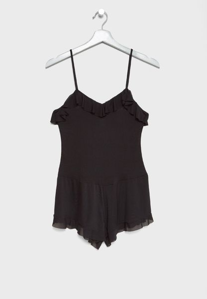 Mesh Playsuit