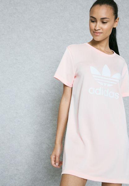 adidas shirt dress
