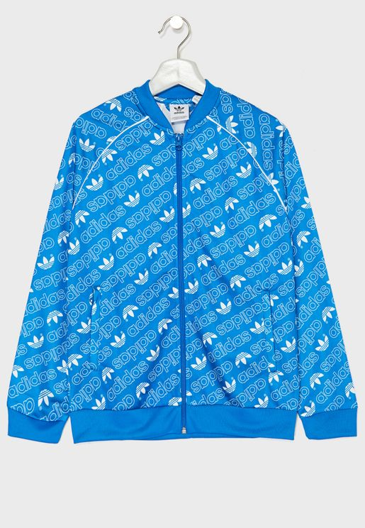 Youth Trefoil Superstar Track Jacket