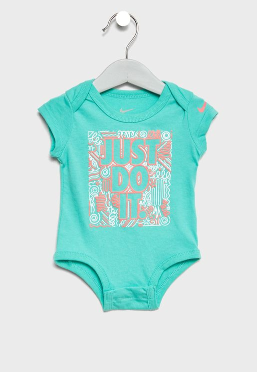 Infant Squiggle Just Do It Bodysuit