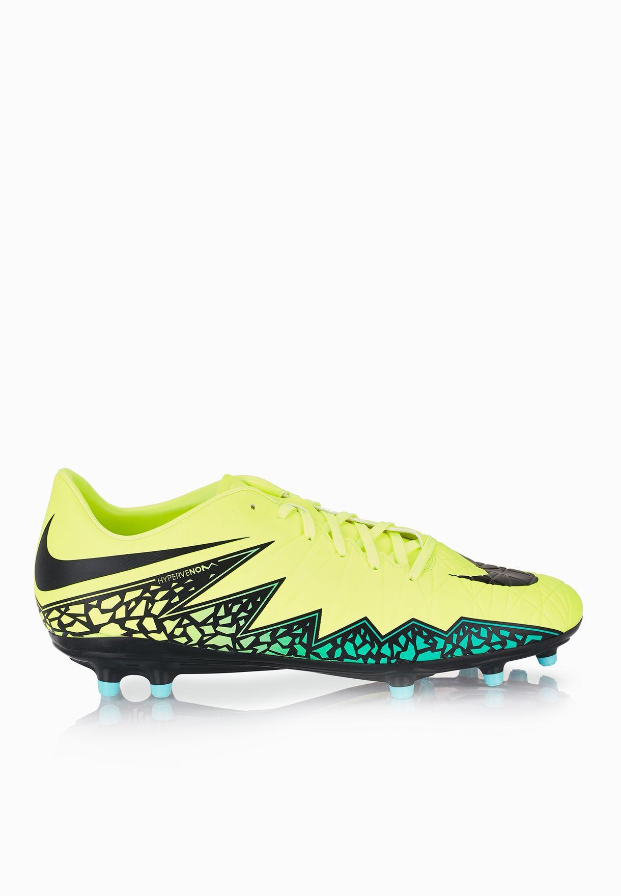 0c5700888b6 Shop Nike neon Hypervenom Phelon II FG 749896-703 for Men in Qatar ...