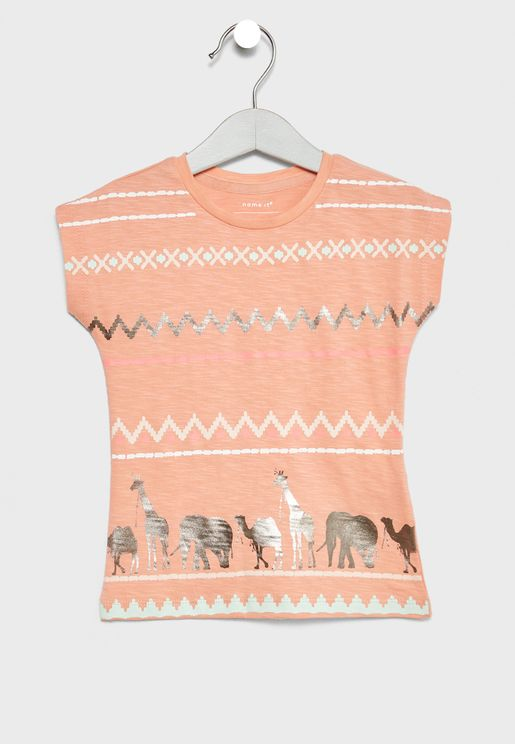 Infant Organic Cotton Printed Top