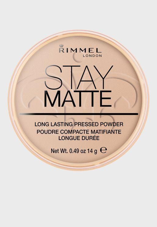 Stay Matte Pressed Powder- 005 Silky Beige