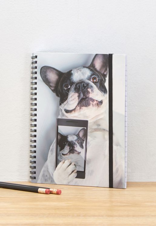 A5 Boston Selfie Spinout Notebook
