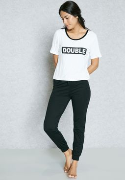 Double Trouble Pyjama Set