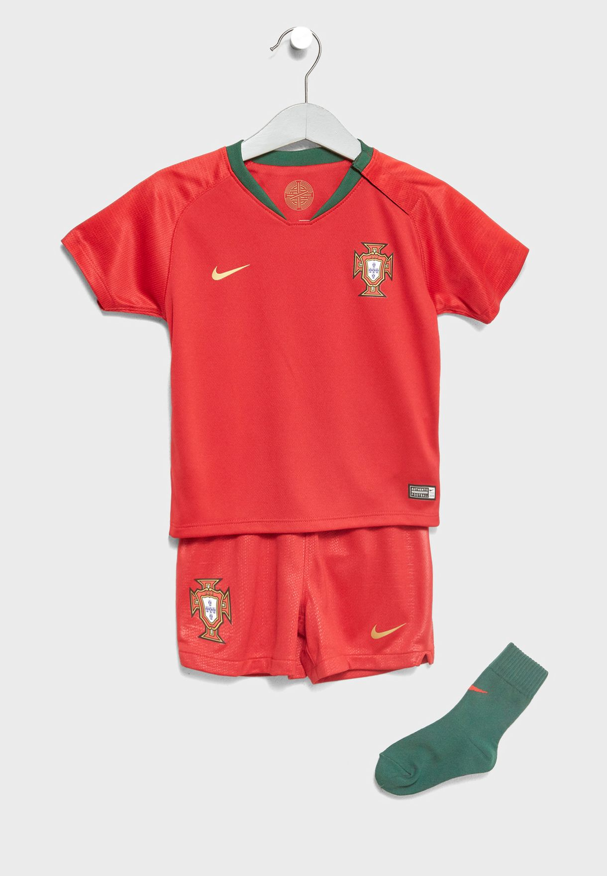 4a4e49fc1 Shop Nike red Infant Portugal Home Kit 894058-687 for Kids in Kuwait ...