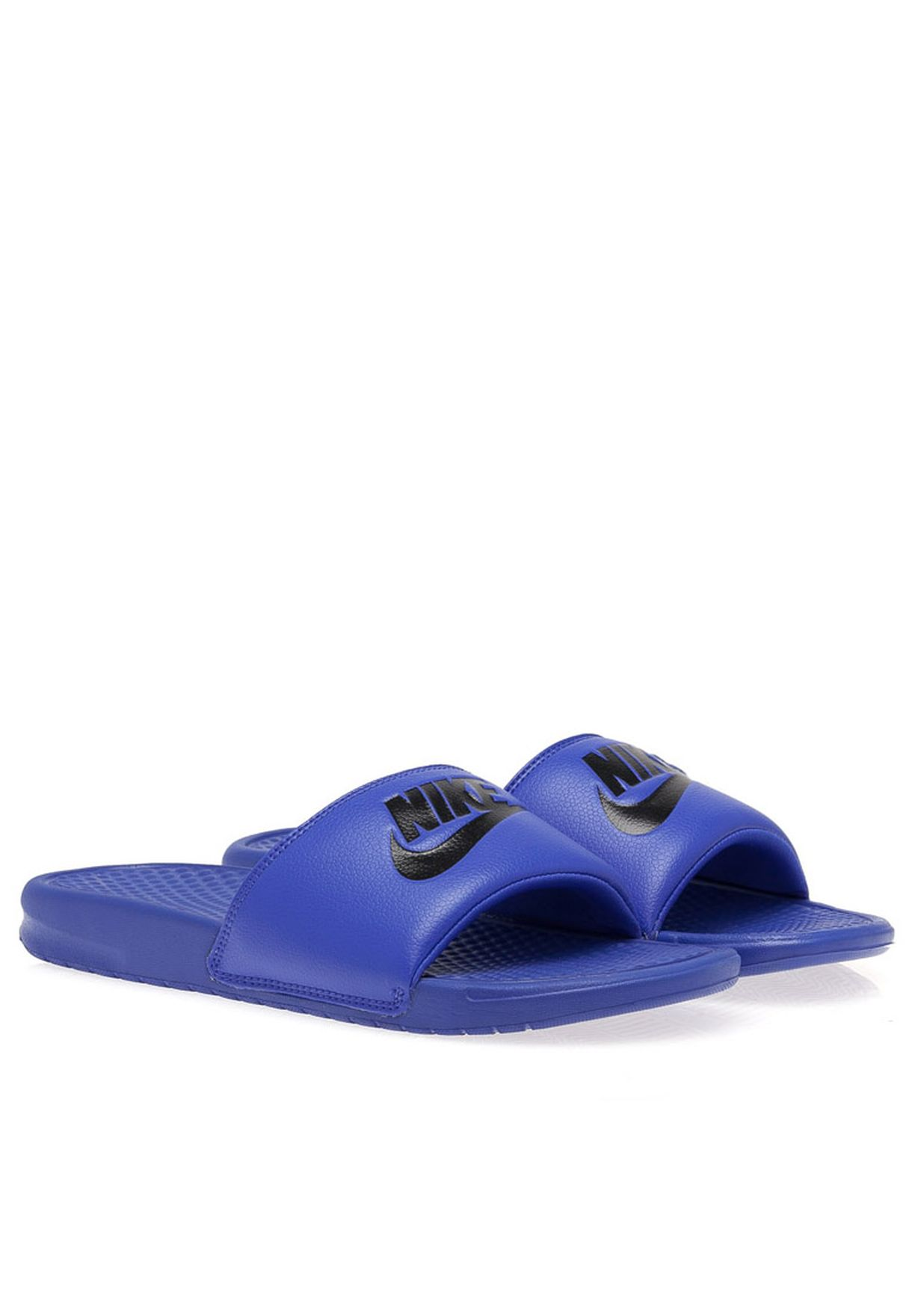 d0a23012fe11b5 Shop Nike blue Benassi jdi Casual Sandals 343880-404 for Men in Kuwait -  NI727SH95ZRK