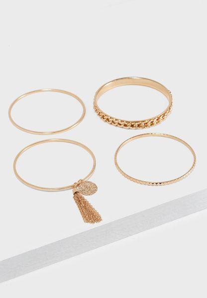 Multipack Chunky Chain Bracelets