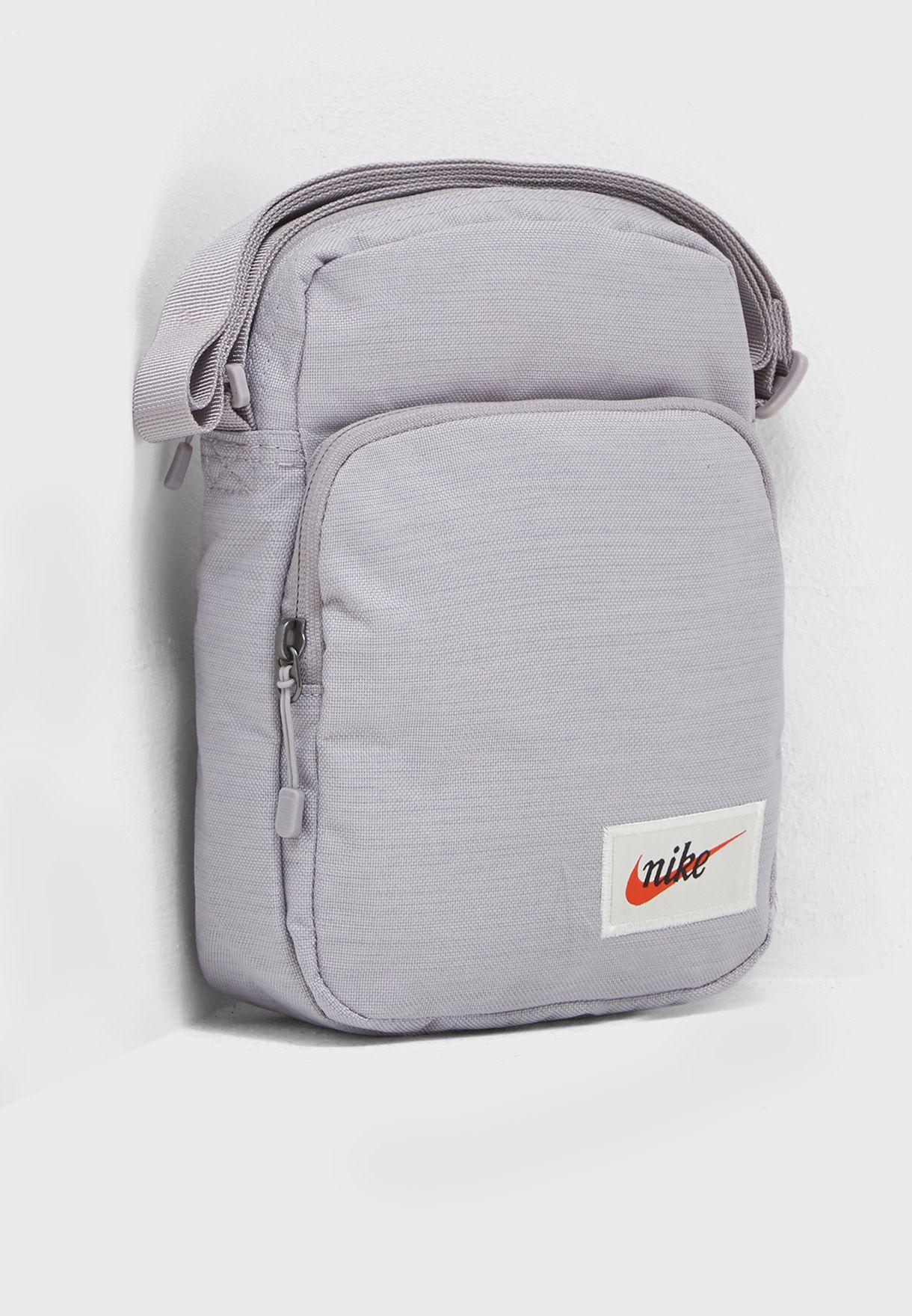 14f0d9927a75 Shop Nike grey Heritage Messenger BA5809-027 for Men in UAE ...