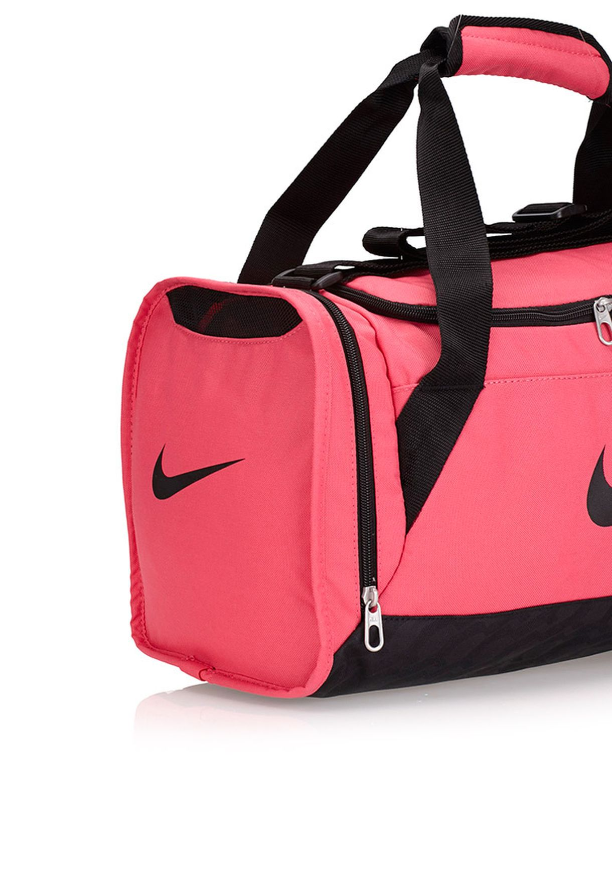 cc7a571cad9a Shop Nike pink Extra Small Brasilia 6 Duffel Bag BA4911-606 for ...