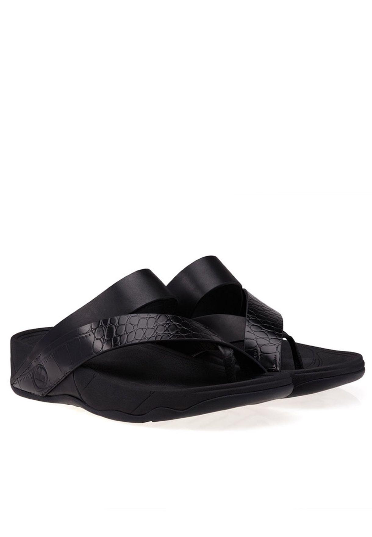 1ecfb15922f37d Shop Fitflop black Sling M Lux Casual Sandal for Men in UAE ...