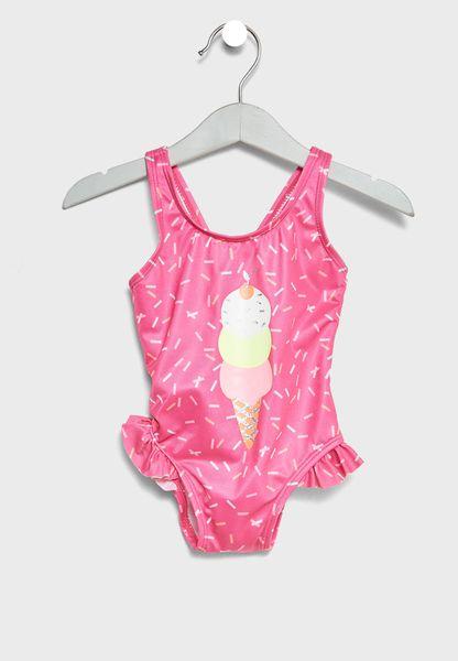 Infant Ice Cream Swimsuit
