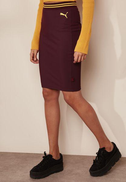Varsity Pencil Skirt