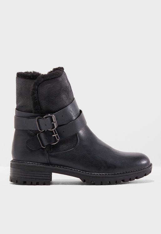 Arctic Biker Boots