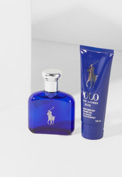 Blue For Male - 75Ml Edt + 100Ml Sg