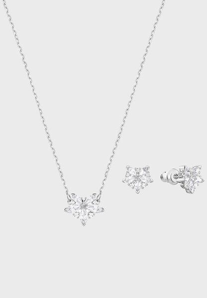 Lady Necklace + Earrings Set