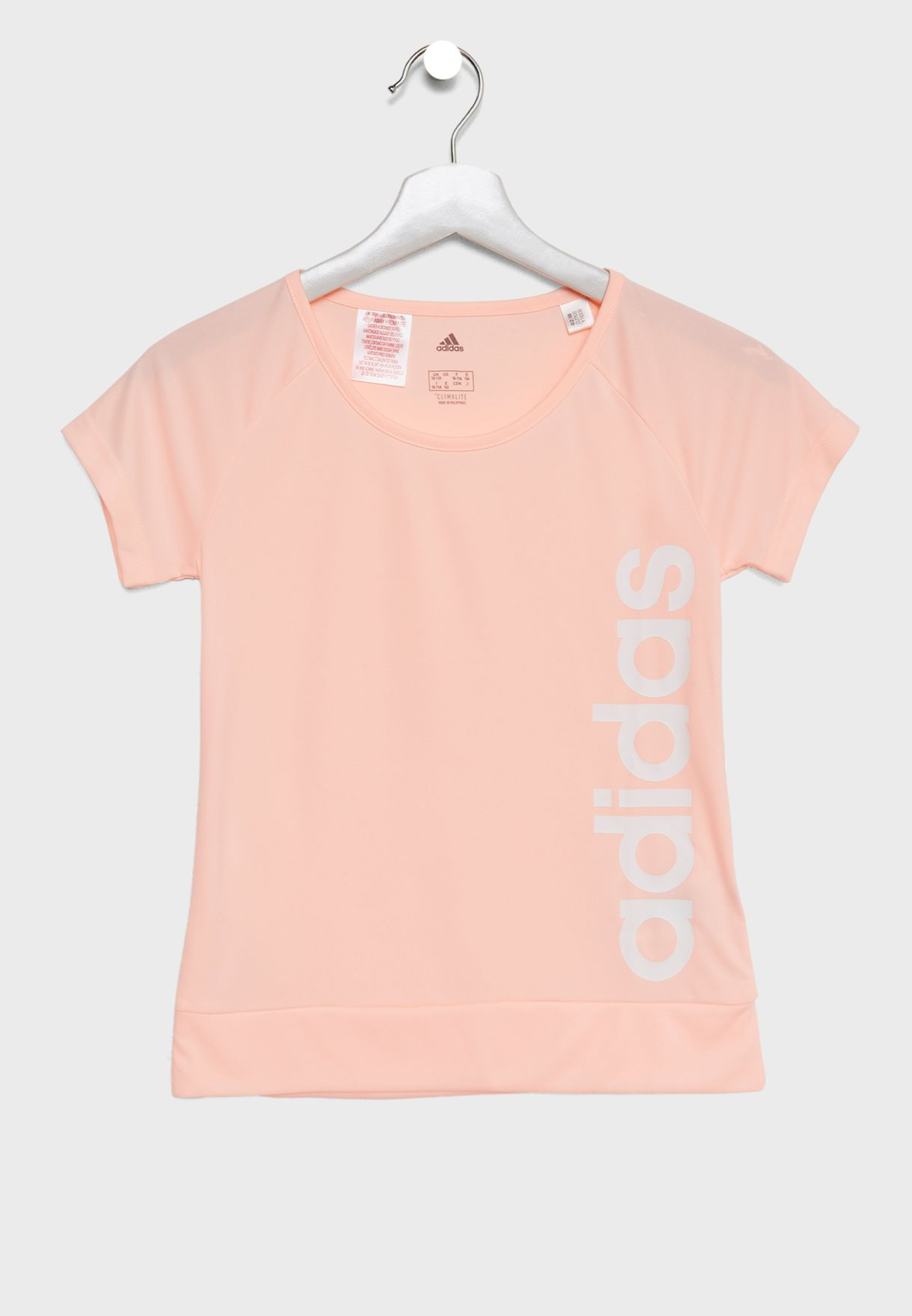 Shop adidas pink Youth Gear Up T-Shirt DJ1108 for Kids in UAE ... bd52facf5c6ac
