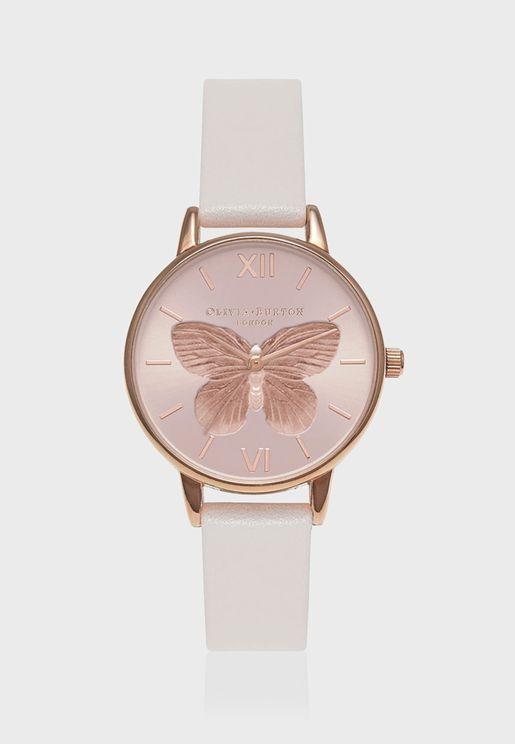 3D Butterfly Watch