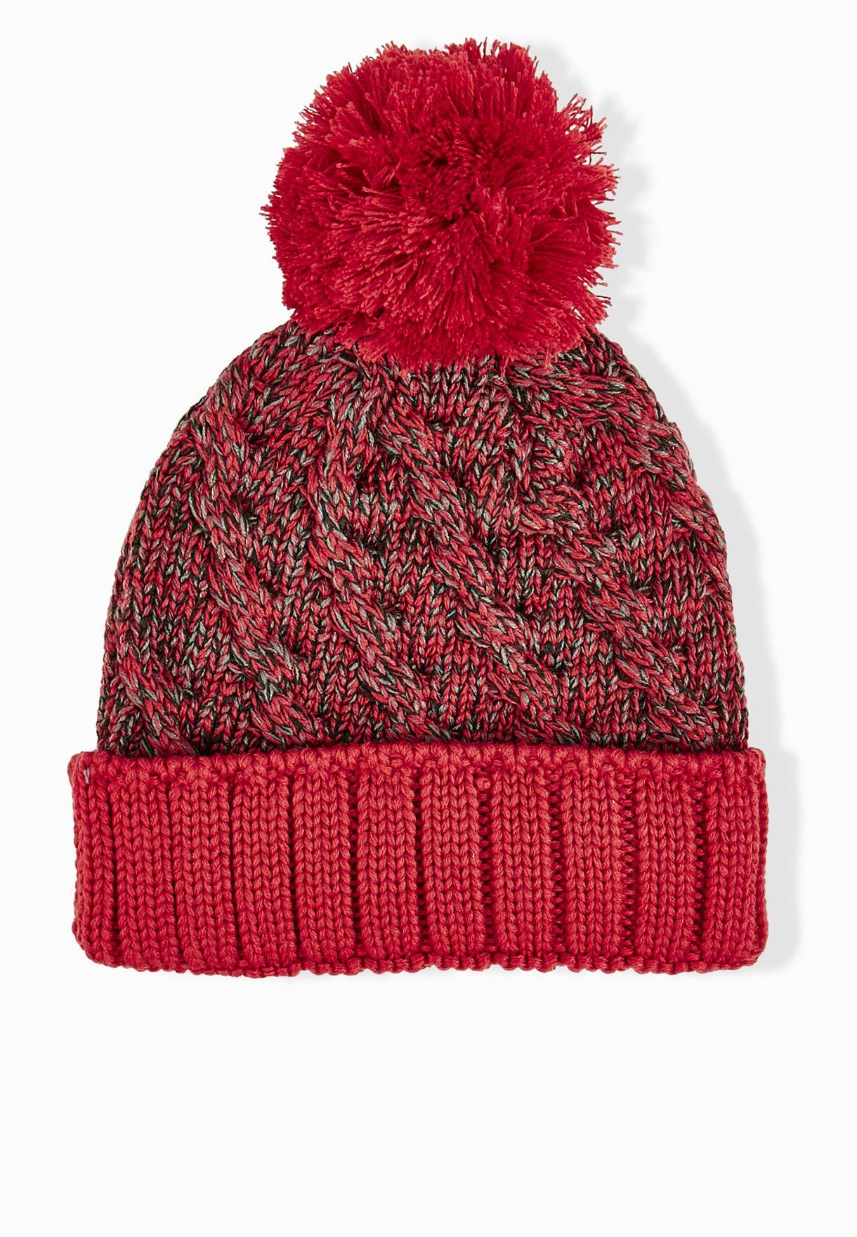 0b592e38dbe133 Shop Nike red Jordan Jumpman Beanie 706608-687 for Women in Oman ...