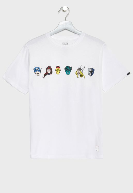 Kids Marvel Avengers T-Shirt