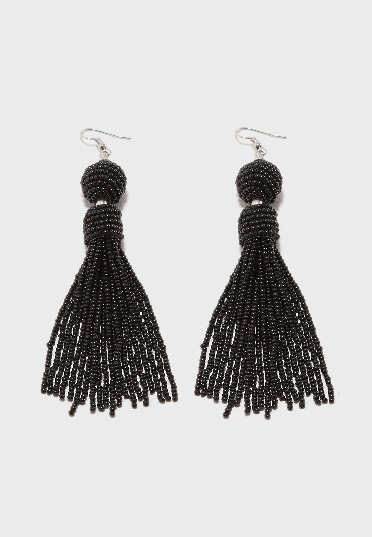 Shop Pieces Black Maise Drop Earrings 17088127 For Women In Uae