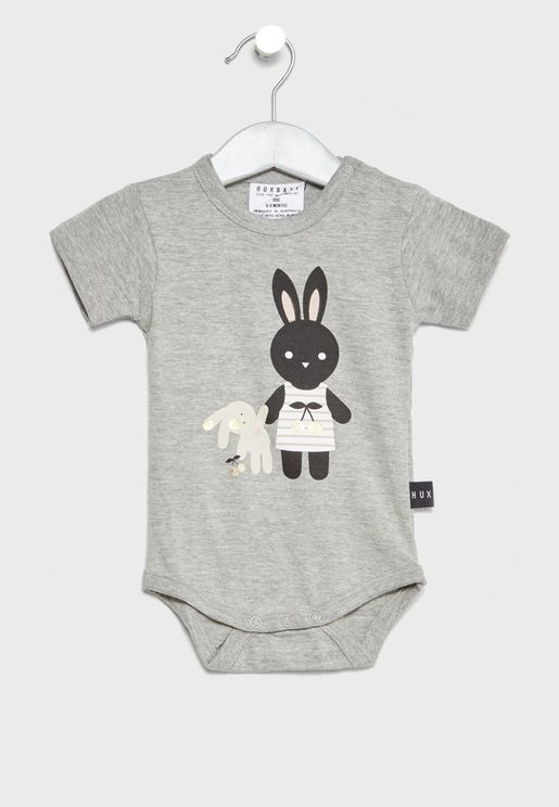 Infant Bunny Bodysuit