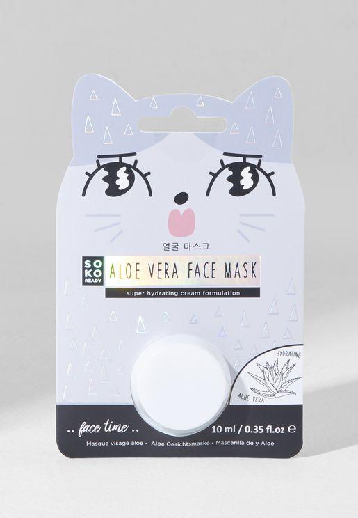ماسك الألوفيرا لتغذية الوجه