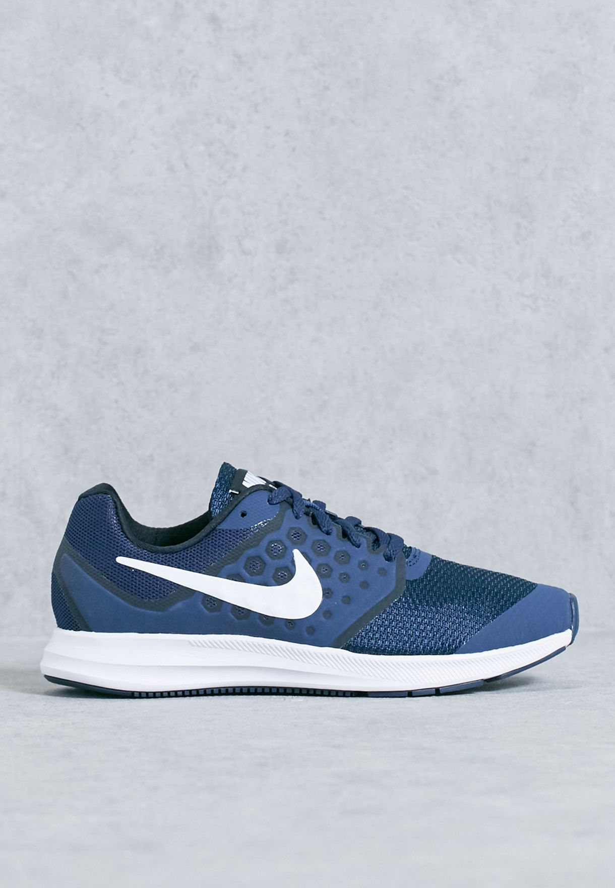 293e81c9eca3 Shop Nike navy Downshifter 7 Youth 869969-400 for Kids in UAE ...
