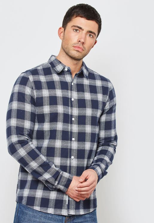 Cambridge Check Print Shirt