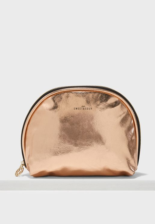 Medium  Round Make-Up Bag