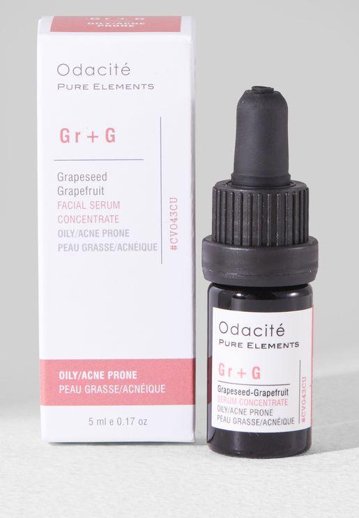 Oily-Acne Prone Serum - Grapeseed + Grapefruit