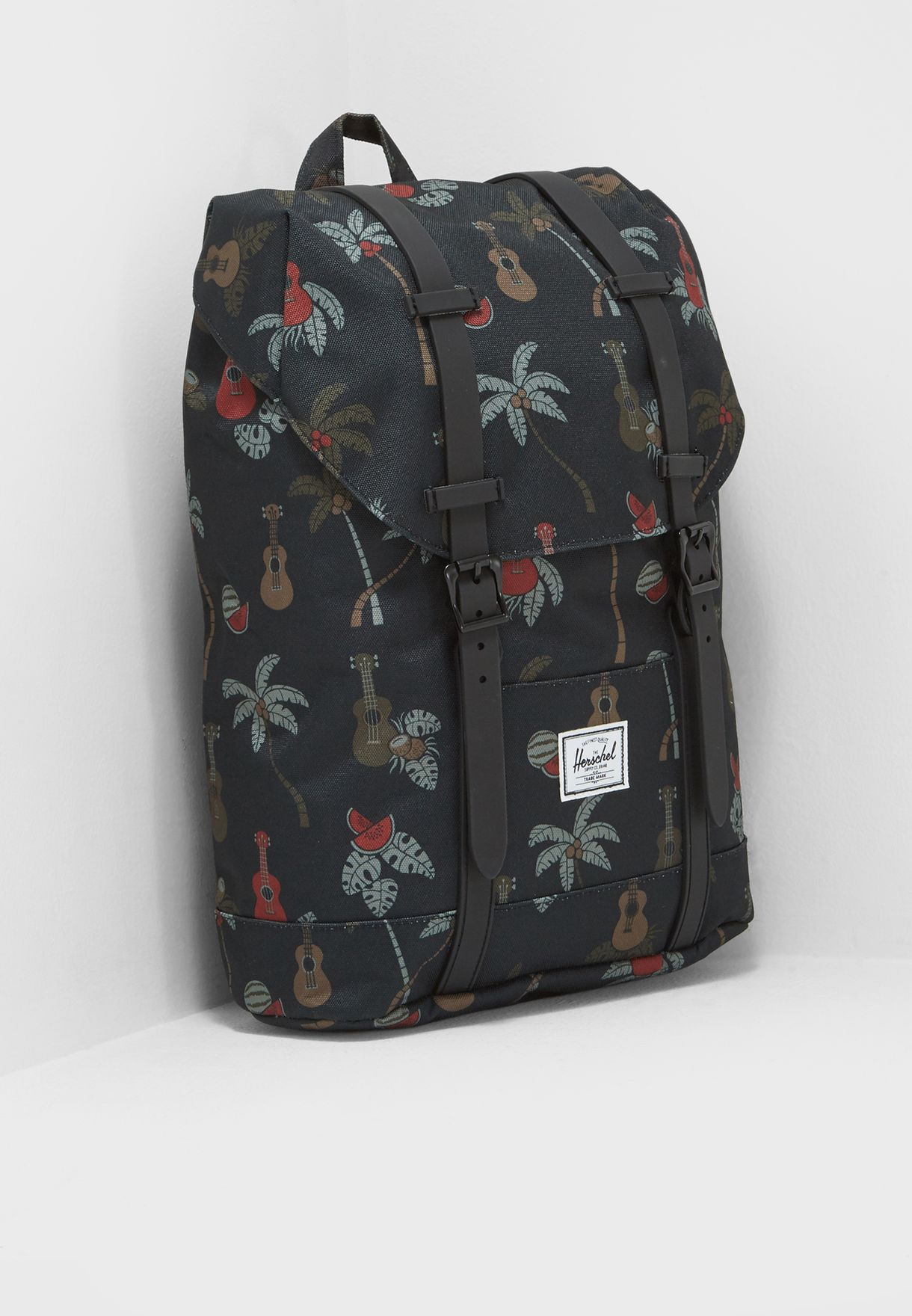 Shop Herschel prints Retreat Youth Backpack 10248-01909-OS for Kids ... 98bfdd300b