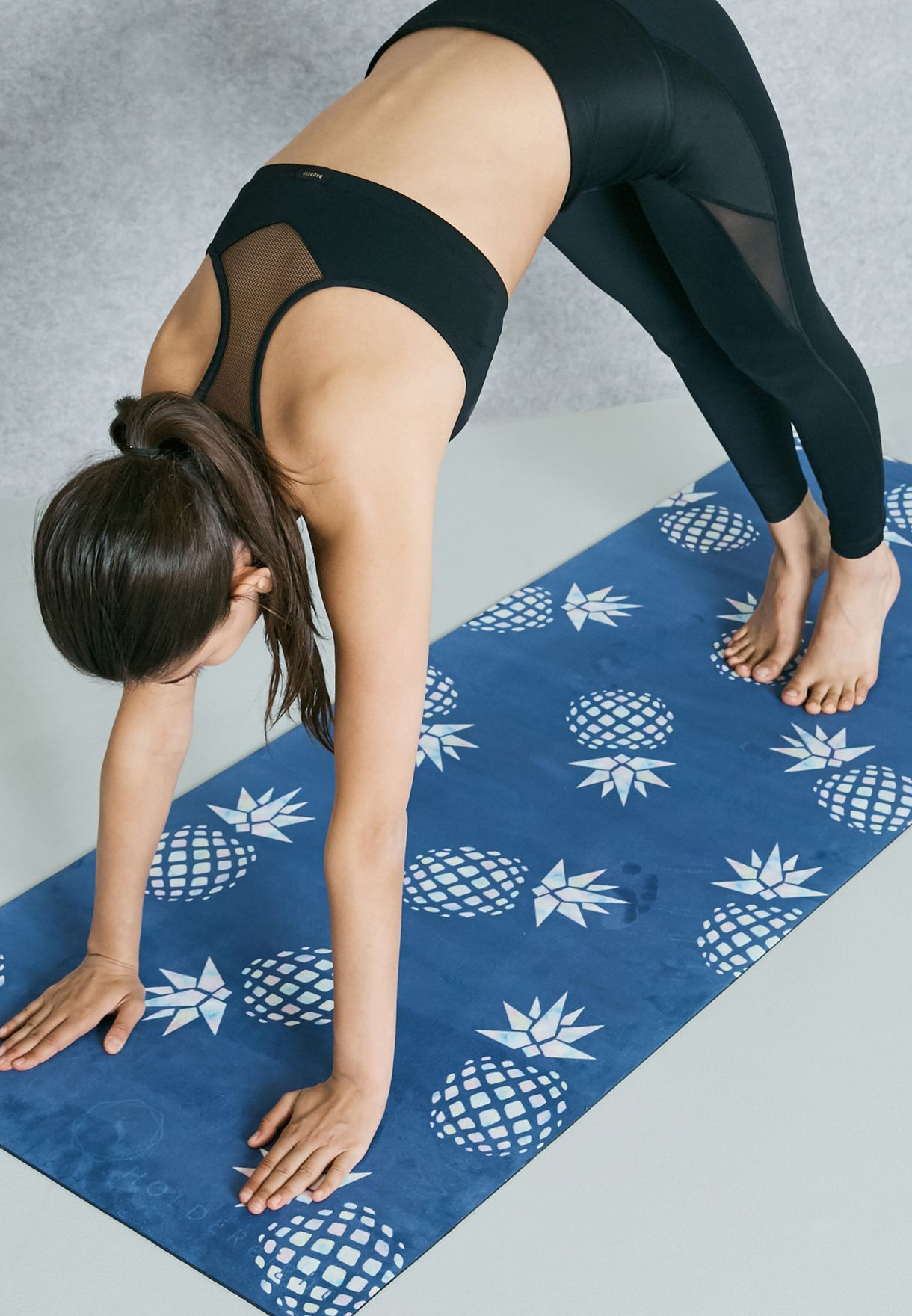 Miniature Pineapple Yoga Mat