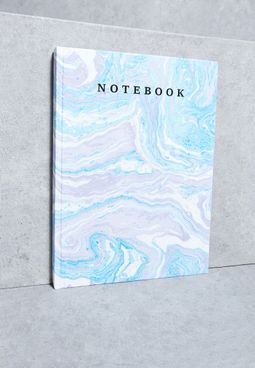 Marble Print Journal