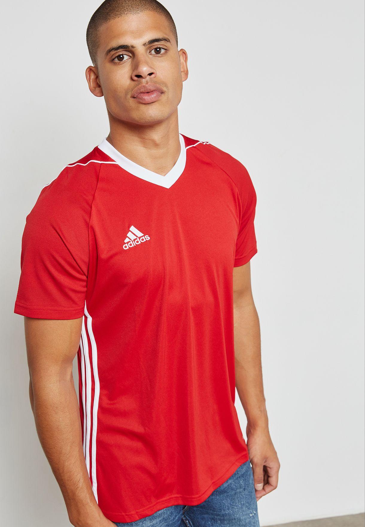 Economía Mirar fijamente Doctrina  Buy adidas red Tiro 17 Jersey for Men in MENA, Worldwide | S99146