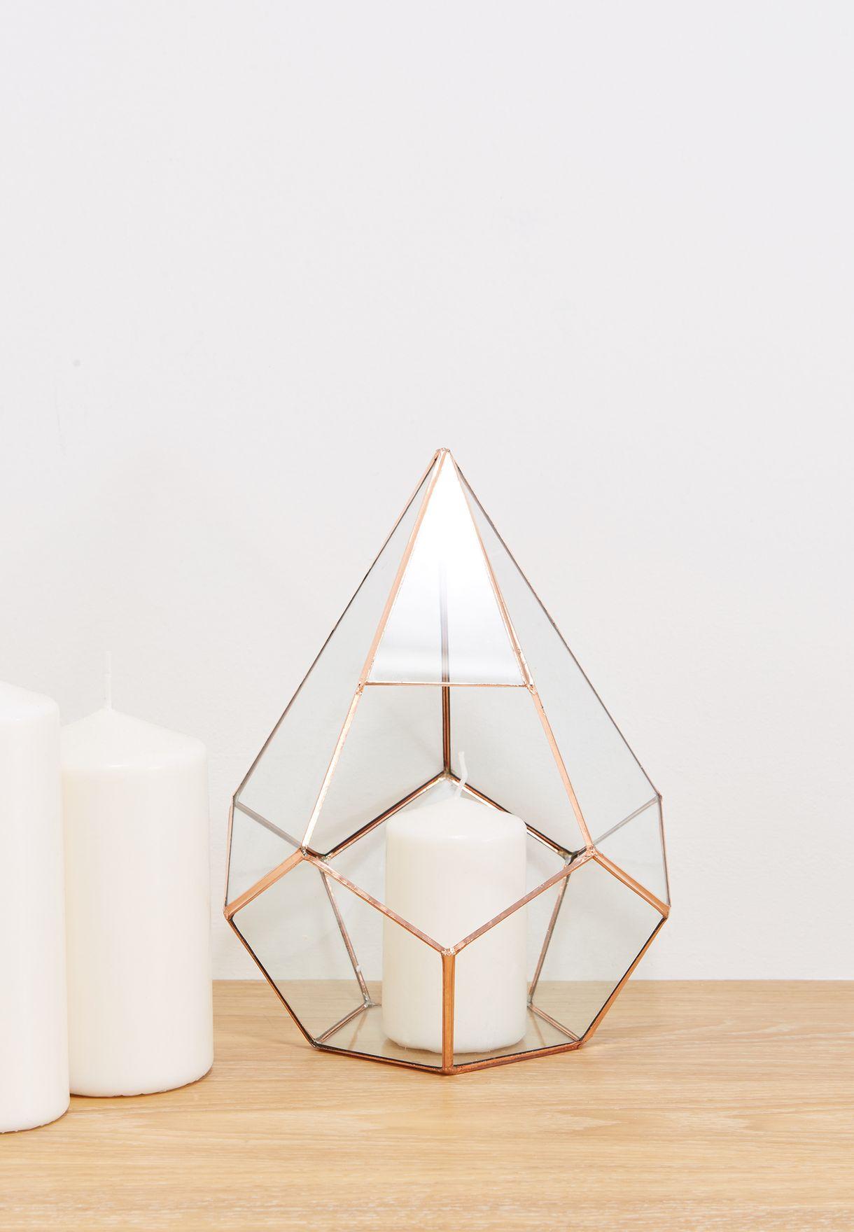 Diamond Rose Gold Terrarium