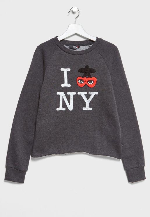 Teen New York Sweatshirt