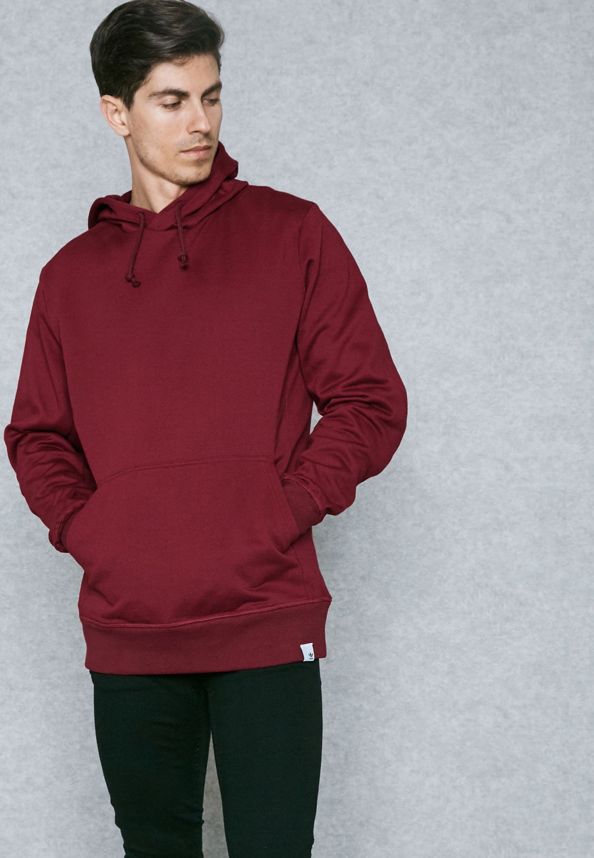 ebf768509 Shop adidas Originals red XBYO Hoodie BS2858 for Men in UAE ...