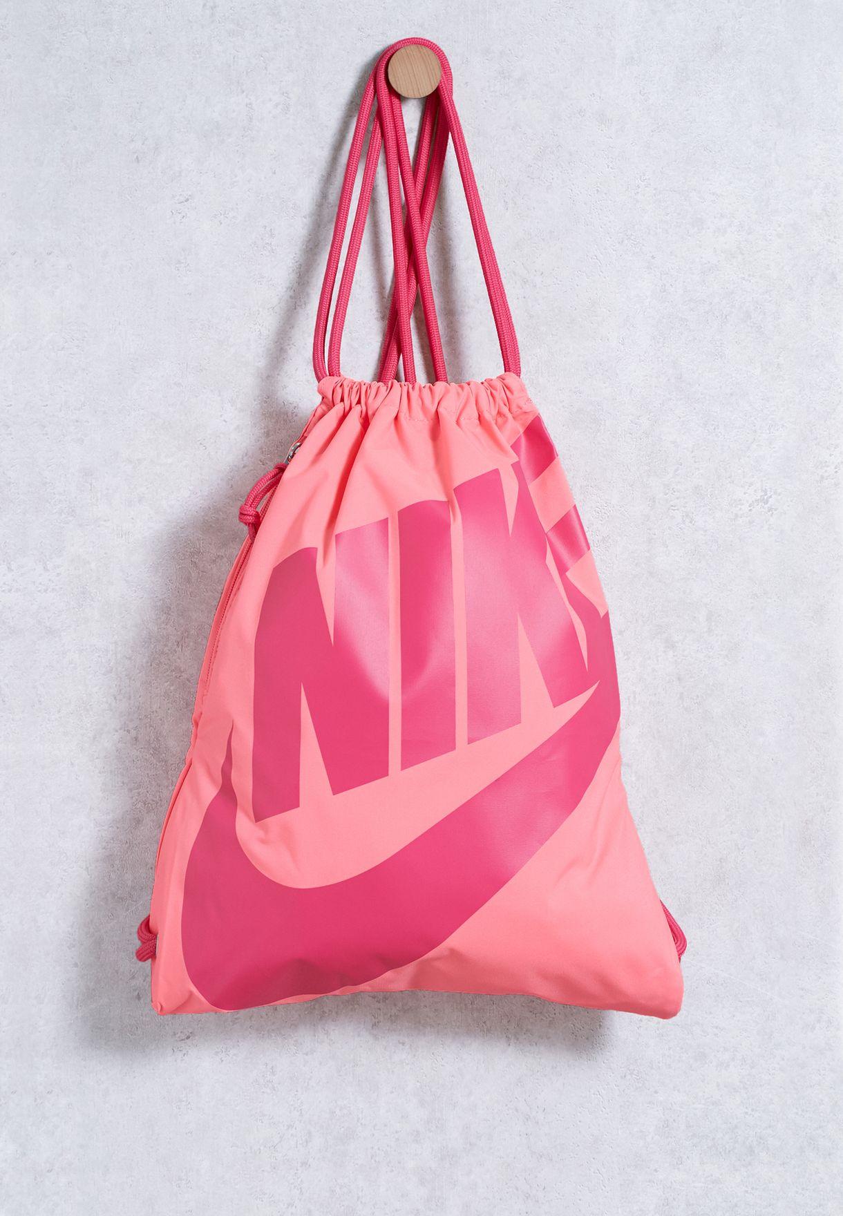 Shop Nike pink Heritage Gymsack BA5351-627 for Women in Saudi - NI727AC85WSK 6977010149a6a