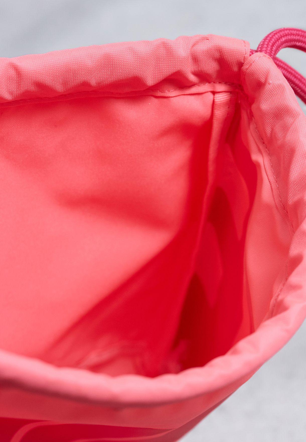 Shop Nike pink Heritage Gymsack BA5351-627 for Women in Saudi ... 6fe52b7f3d9d6