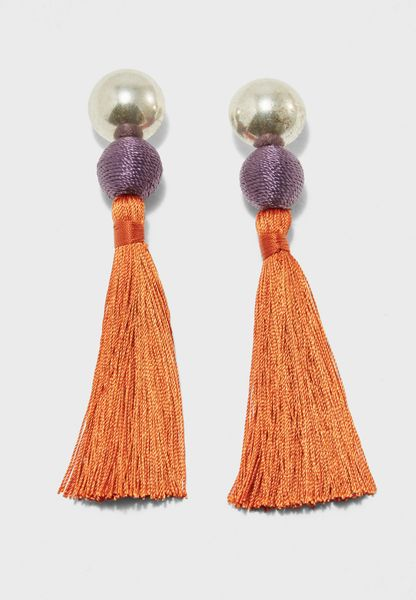 Simba Tassel Earrings