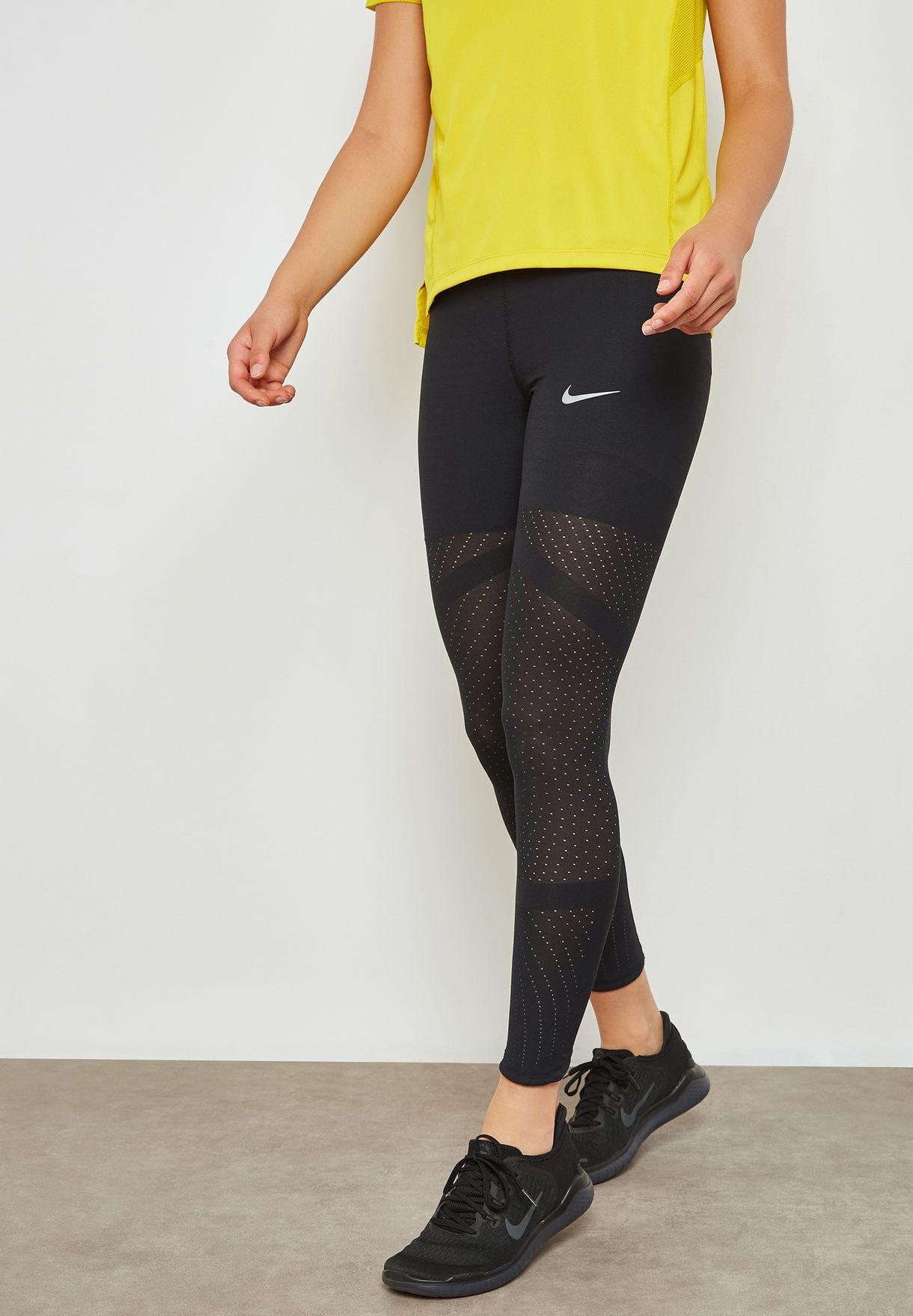 de03f5828130a Shop Nike black Epic Lux Athena Leggings AA3260-010 for Women in ...