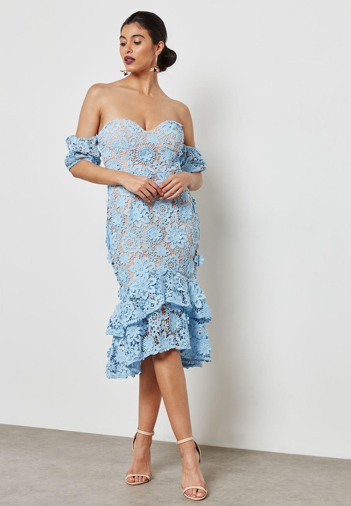 Pephem Lace Dress