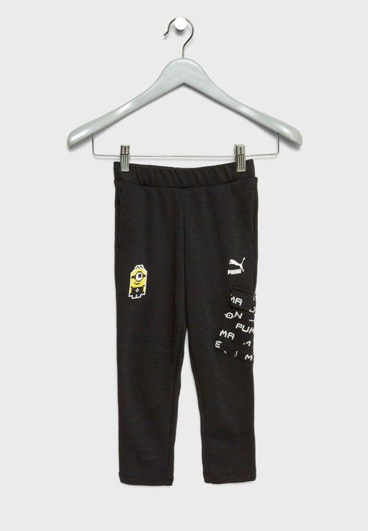 Kids Minions Sweatpants