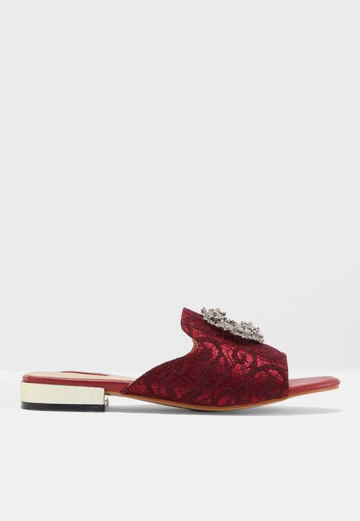 Angelika Flat Sandals