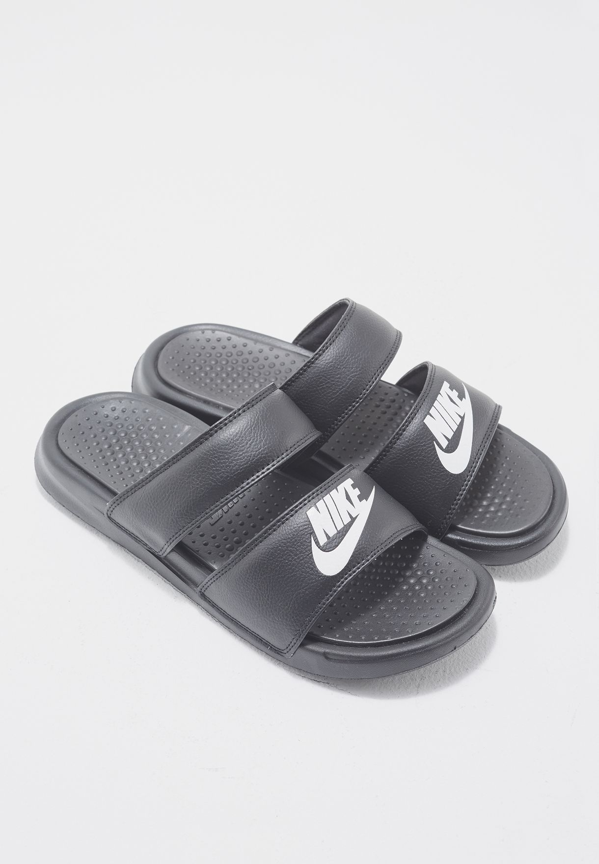 7e49d2c6b63e Shop Nike black Benassi Duo Ultra Slide 819717-010 for Women in ...