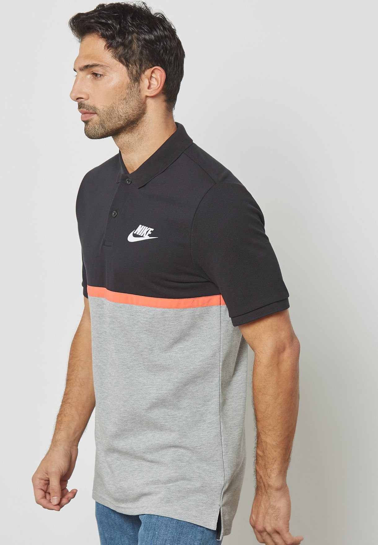 b0a0b6bee82f Shop Nike black Novelty Matchup Polo 886507-010 for Men in Kuwait -  NI727AT85HLY
