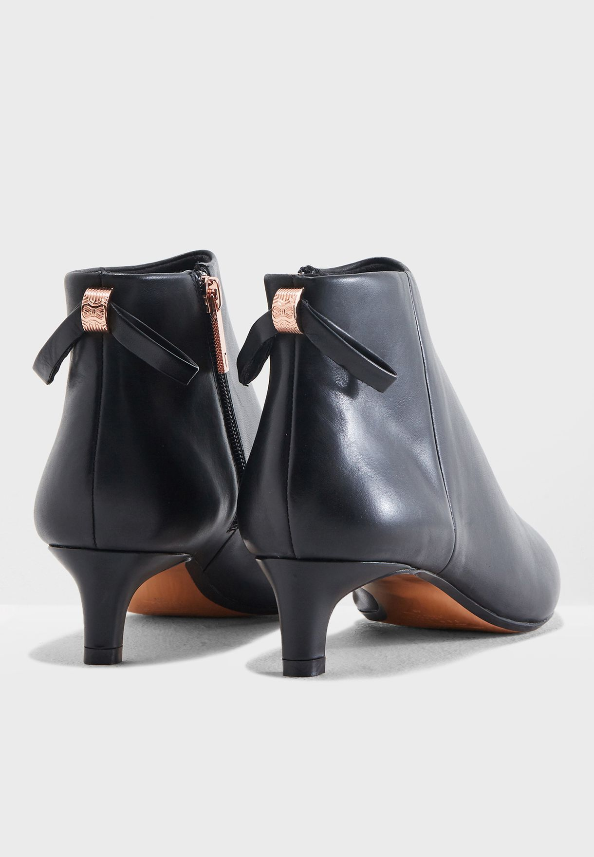 aeecf7a6d Shop Ted baker black Amaedi Ankle Boot 917778 for Women in UAE ...